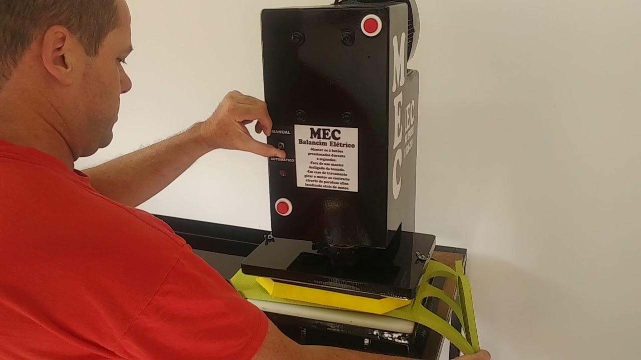 5f7ffbb84 Maquina MEC automática de alta produção, corta o par. - YouTube