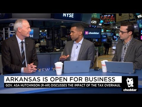 Governor Asa Hutchinson's Interview with Cheddar