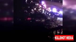 Miami suspect armed with AK47 shooting at Police BREAKING NEWS Footage