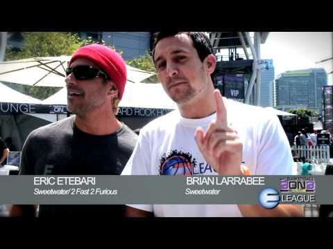 Eric Etebari & Brian Larrabee at Nike's 3ON3 Tournament