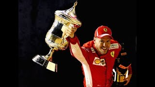 Sebastian Vettel Driver Formula 1 One Grand Prix GP Full Car Race Live News Highlights