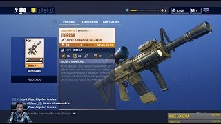 New TIGRESA WEAPON Save the WORLD FORTNITE By Testing Your Power + Carbide Event