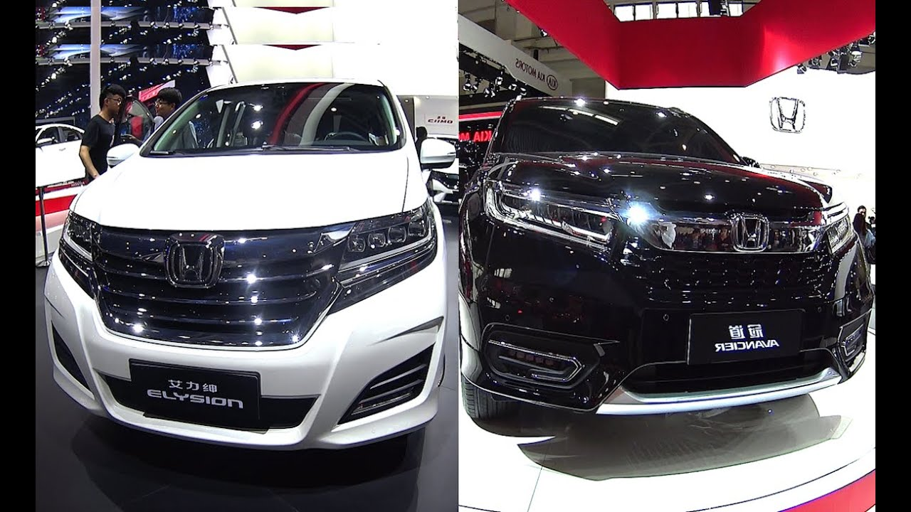 Officially New 2016 2017 Honda Avancier Vs Odyssey Elysion You