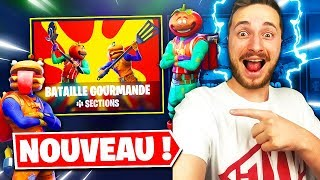 *NEW* LE MODE DE JEU: BATAILLE GOURMANDE TROP COOL sur FORTNITE !