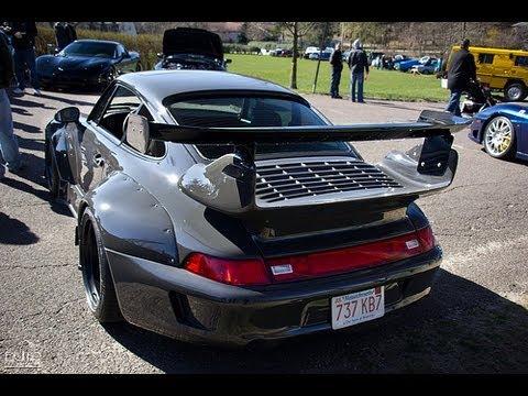 Rauh-Welt RWB Widebody Porsche 993 - Details & Sound