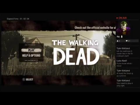 Walking Dead ep 1