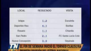 Torneo clausura de la primera división del fútbol guatemalteco