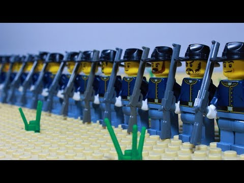 Lego Battle of the Little Bighorn - stop motion (Custer's Last Stand)