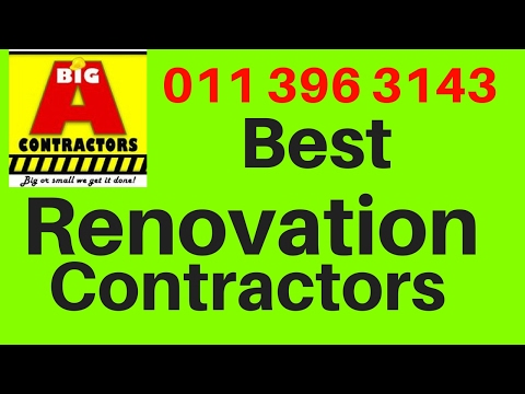 Office Renovation Contractor Johannesburg