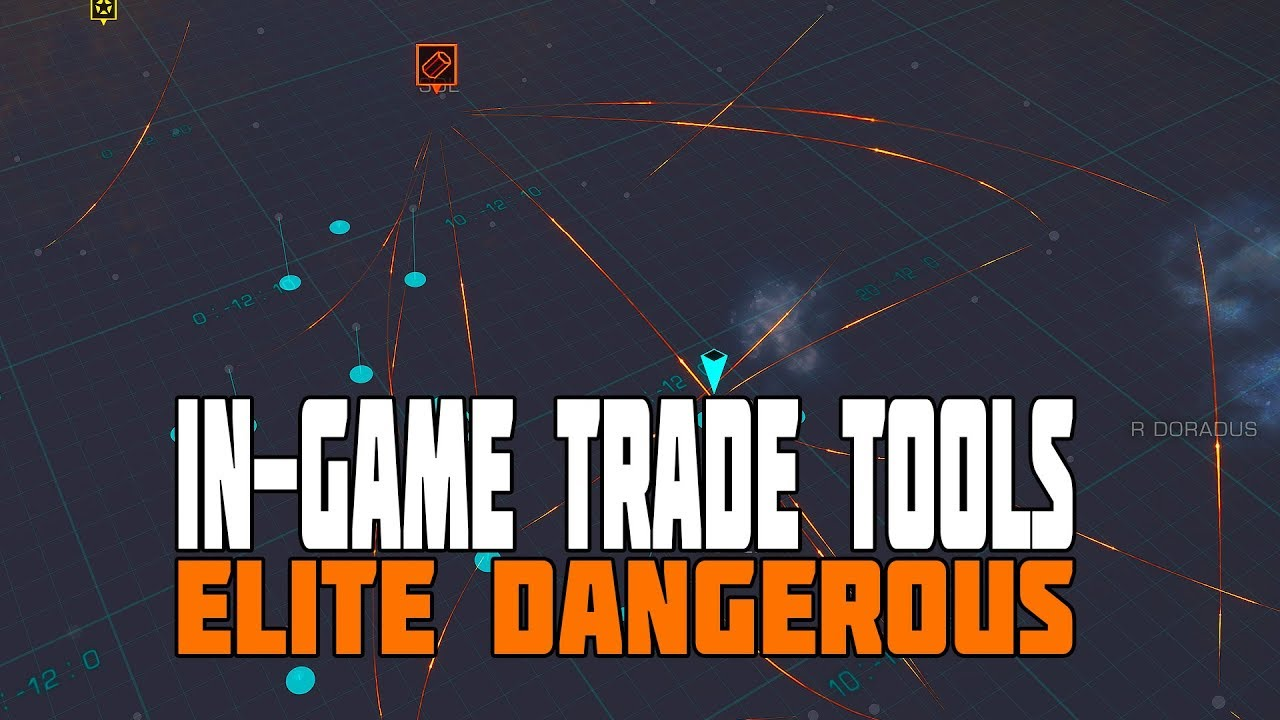 Video - Elite Dangerous - How to Find a Profitable Trade Route