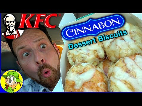 KFC® | Cinnabon® Dessert Biscuits Review 🌀🧁 | Peep THIS Out! 👴