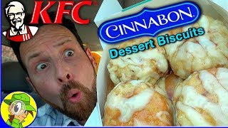 Kfc Cinnabon Dessert Biscuits Review Peep This Out Youtube