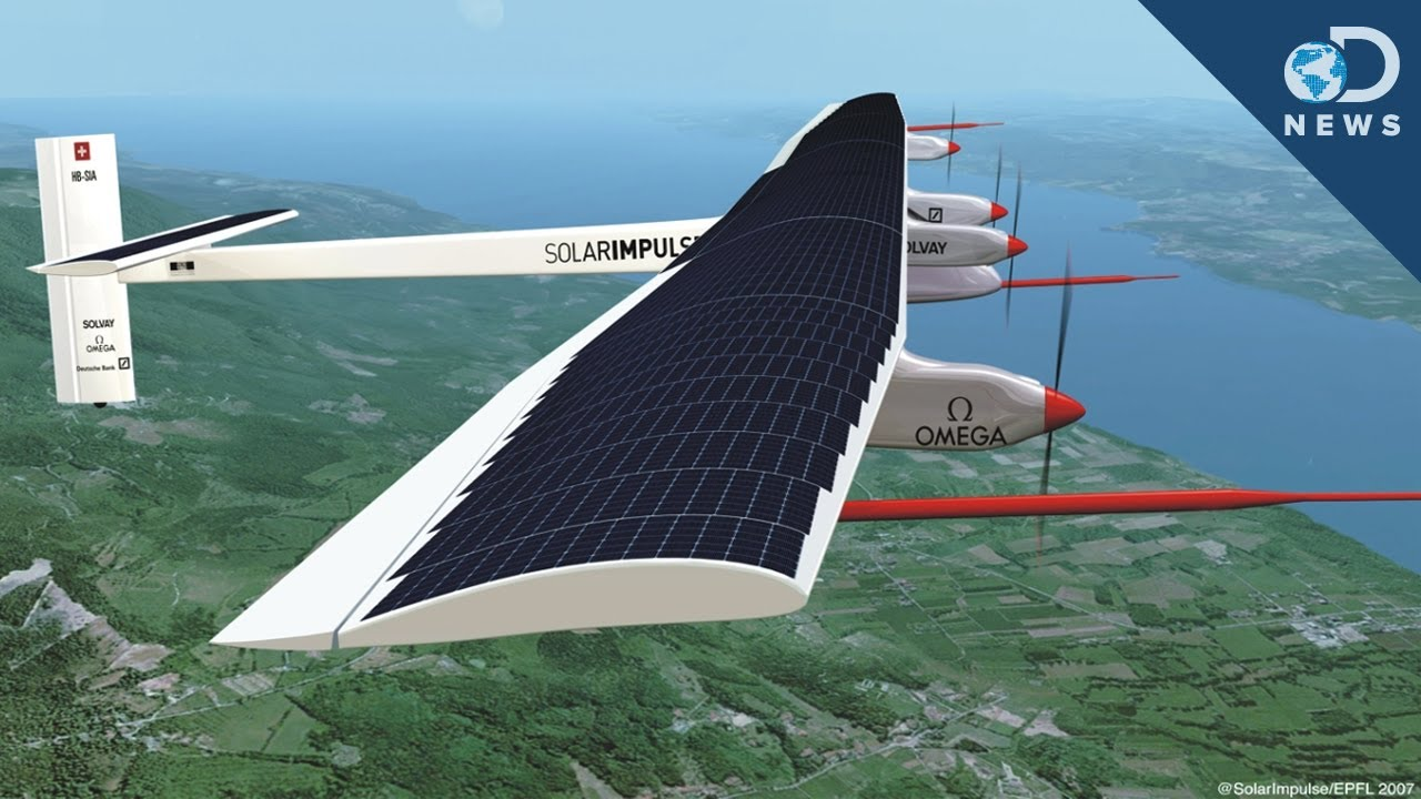 Solar Impulse Plane Takes Flight - YouTube