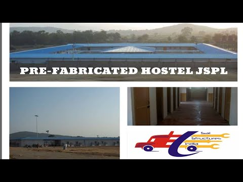 PREFABRICATED HOSTEL//PORTABLE HOUSE/JSPL ANGUL#PORTA CABINS MANUFACTURER#SAI STRUCTURES INDIA/DELHI