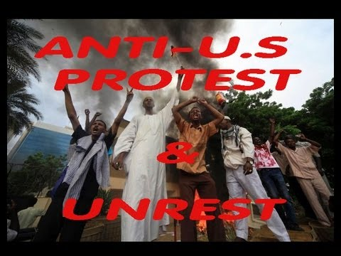 USA! EMBASSIES! Worldwide: PROTEST UNREST - Egypt Libya Yemen Tunisia Germany 50 Dead 9.14.12