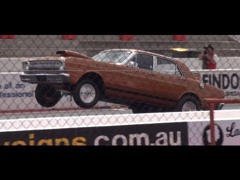 ANDRA Spring National's,Angleo Musolino XR Falcon,Drag Racing Adelaide Iternational
