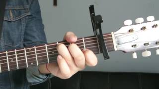 """Justin Bieber - """"Be Alright"""" How to Play Guitar (Easy!! Guitar Tutorial!!)"""