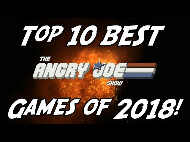 Top 10 BEST Games of 2018!