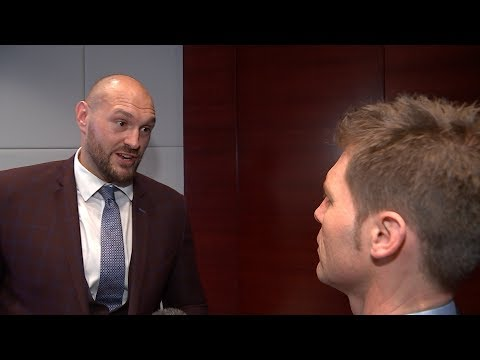 Why Tyson Fury walked out of this ITV News interview | ITV News