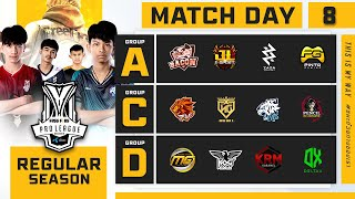 Free Fire Pro League Season 4 : Regular Season Day 8