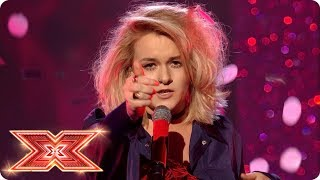 Grace Davies delivers another original song Live Shows The X Factor 2017