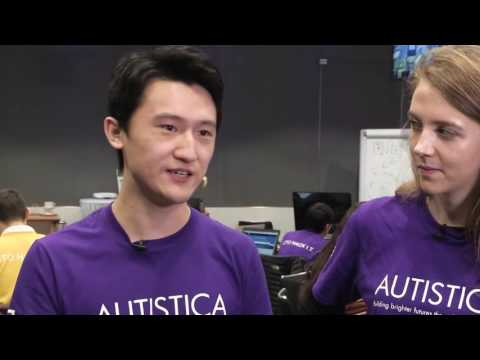 Deutsche Bank 24 hour Autistica Hackathon