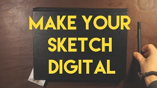 Make Your Sketchbook Drawing Into a Digital Masterpiece with Illustrator