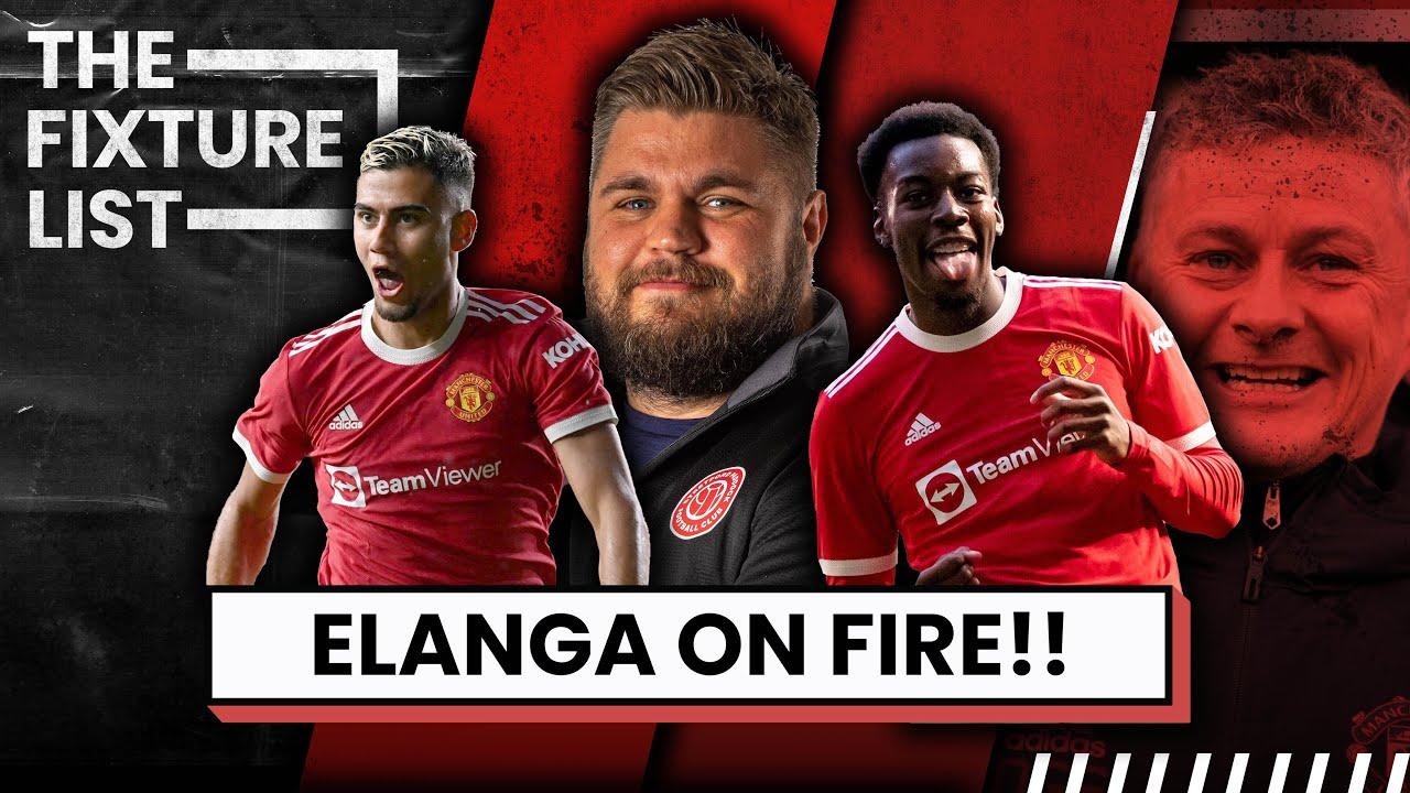 Elanga On FIRE! | Andreas Pereira OR Paul Scholes?! | The Fixture List