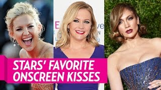 Stars' Reveal Their Favorite Onscreen Kisses