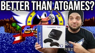 BETTER THAN ATGAMES GENESIS? MiniGen HD Review | RGT 85
