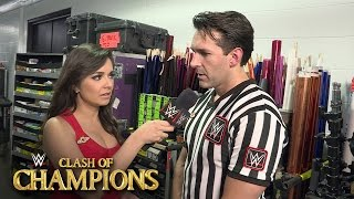 Referee John Cone on why he called off Sheamus vs. Cesaro: Sept. 25, 2016