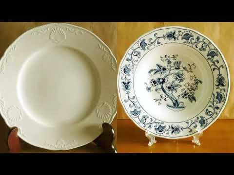 collectibles vintage porcelain plates