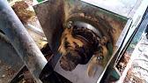 Пресование брикетов жмыха (макухи) своими руками. - YouTube