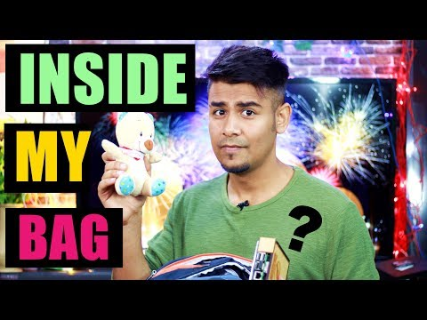 What's Inside My Tech Bag ? | What I Carry ?