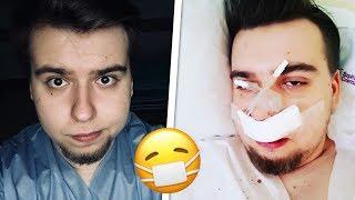 Straciłem miesiąc życia w szpitalu...