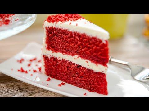 КРАСНЫЙ БАРХАТ торт / пирожное / самый вкусный десерт - простой рецепт торта Red Velvet Cake