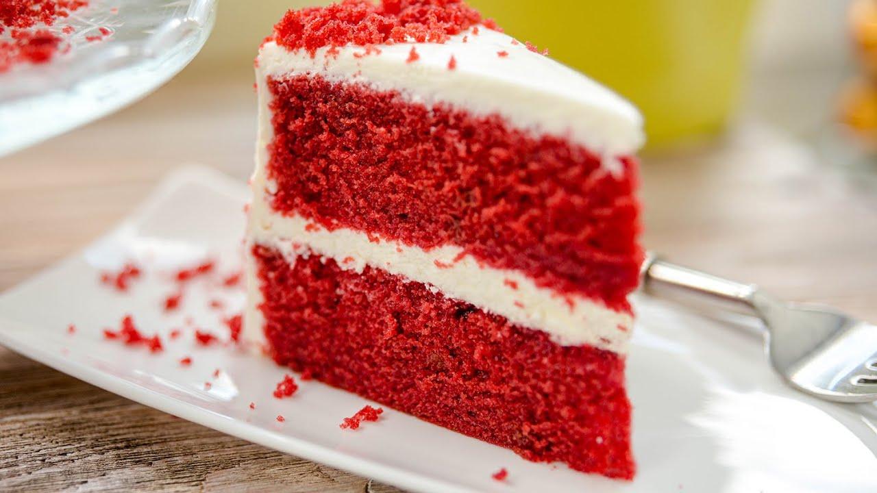 Торт КРАСНЫЙ БАРХАТ + пирожные | самый вкусный десерт | простой рецепт торта Red Velvet Cake