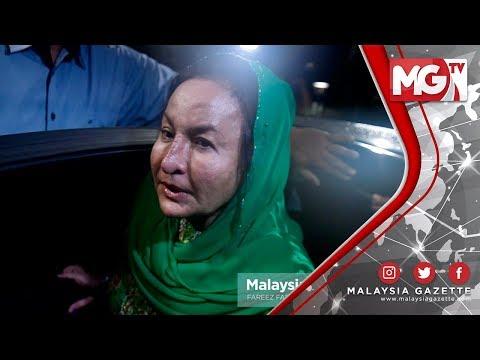 """TERKINI : """"Saya Okay, Alhamdulillah"""" - Rosmah Mansor"""