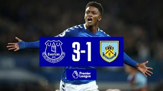 EVERTON 3-1 BURNLEY   PREMIER LEAGUE HIGHLIGHTS   TOWNSEND STUNNER AS TOFFEES FIGHT BACK TO WIN