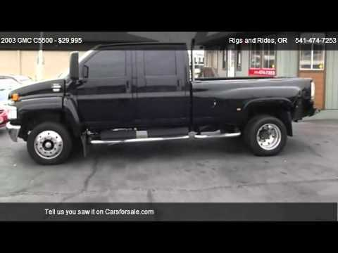2003 Gmc C5500 For Sale In Grants Pass Or 97526