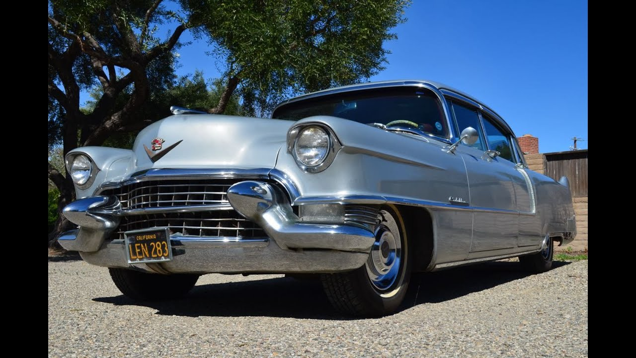 SOLD: 1955 Cadillac Series 60 Special Fleetwood - YouTube