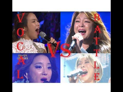 Vocal Battle! Sohyang VS Yangpa VS Bada VS Lee Younghyun (C5-A5)