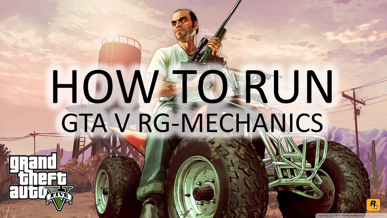 How to run GTA V on PC (RG-MECHANICS) - YouTube