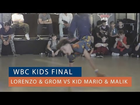 Lorenzo & Grom Vs Kid Mario & Malik| FINAL | Kids Qualifier | World Bboy Classic 2018