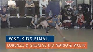 Lorenzo & Grom vs Kid Mario & Malik - Finał 2vs2 Kids na World Bboy Classic Qualifier 2018