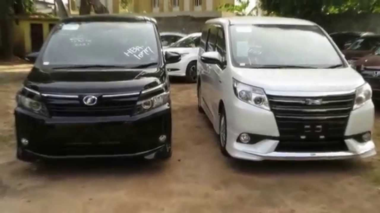 Toyota Voxy 2017 Price >> TOYOTA Noah Hybrid vs Voxy Hybrid - ViYoutube