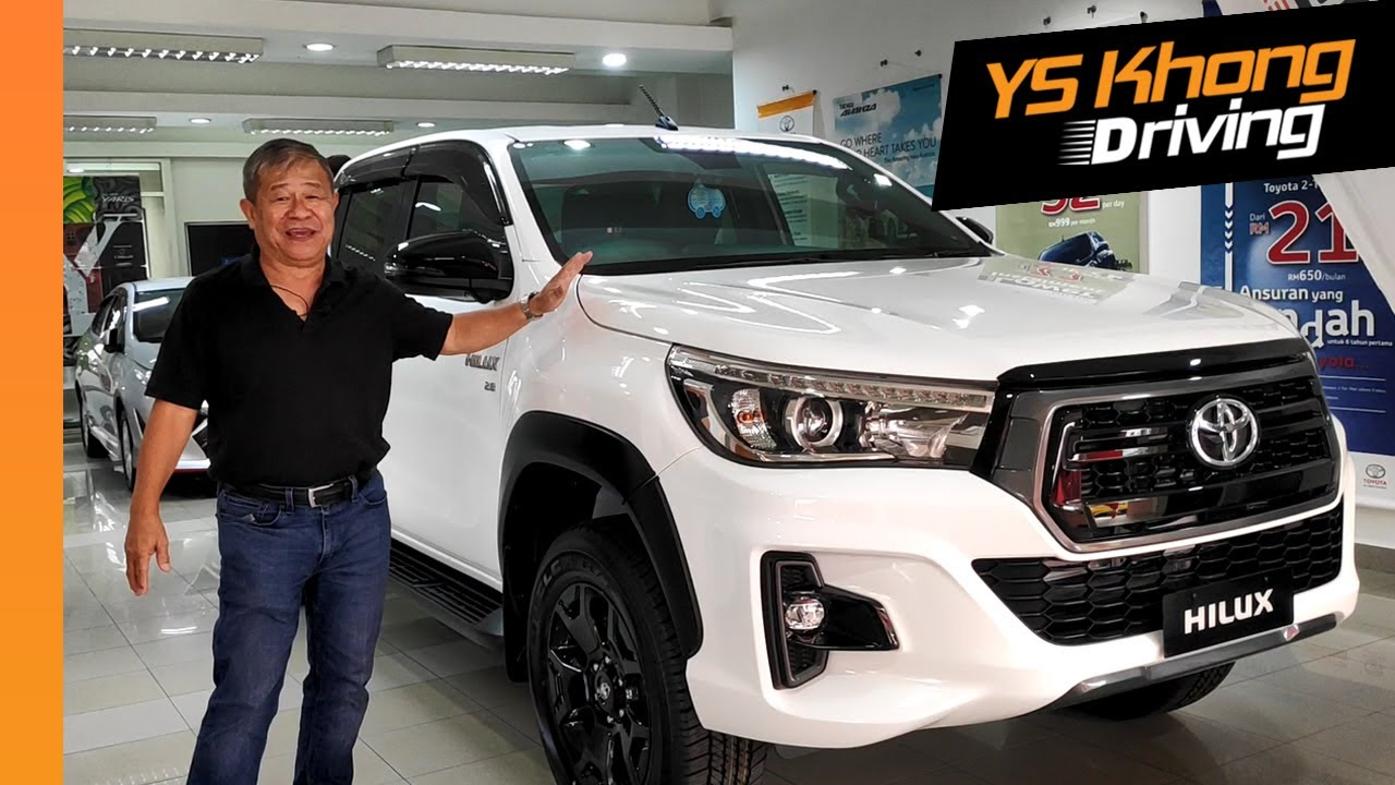 2019 Toyota Hilux 2 8 Black Edition First Look Drive Ys Khong Driving Youtube