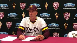 ASU-SMC Baseball Postgame: Tracy Smith happy with ASU's mature performance in win over Gaels