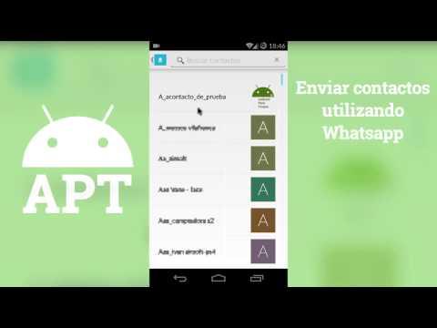 Enviar Contactos Por Whatsapp - [AndroidParaTorpes]