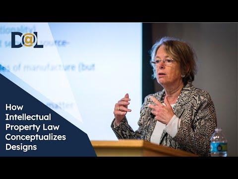 Design@Large: Pamela Samuelson: How Intellectual Property Law Conceptualizes Designs